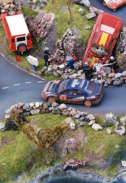 Car Accident Diorama