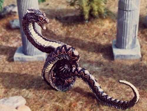Figurine serpent - Peinture effet serpent ...